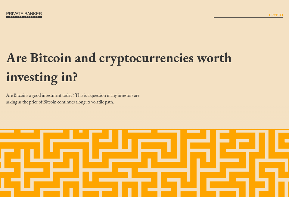 Which crypto is worth investing long term